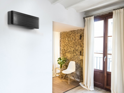 Daikin Stylish čierna blackwood R32